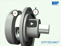 High-precision coupling with 1 bolt/Friction shaft lock : ETP-T